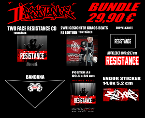 "Bild von JankOne ""Two Face - Resistance"" [BUNDLE]"
